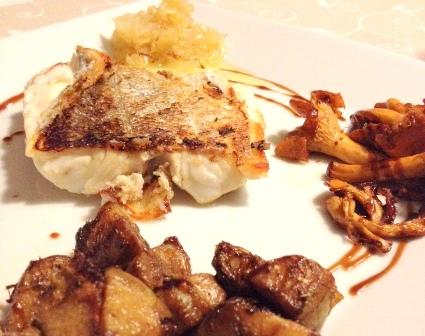 Merluza con rebozuelos y alcachofas: prepara esta receta desde casa
