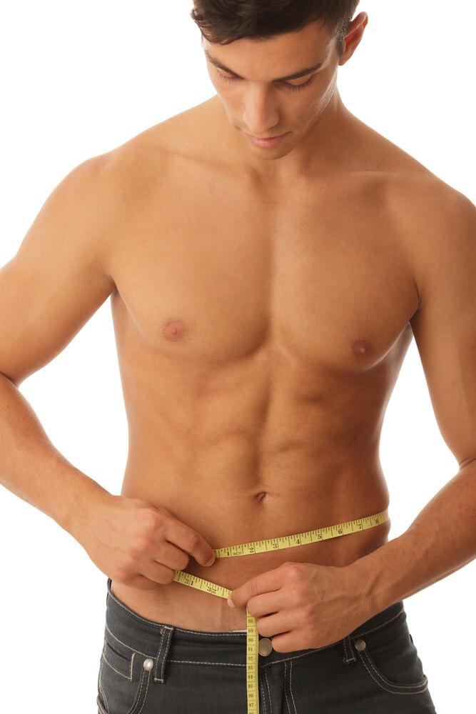 como medir cintura cadera y abdomen