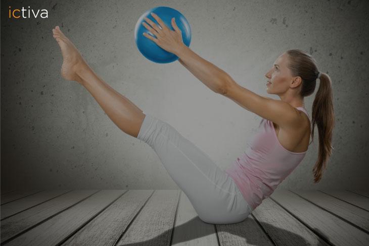 Tonifica tus piernas con pilates online