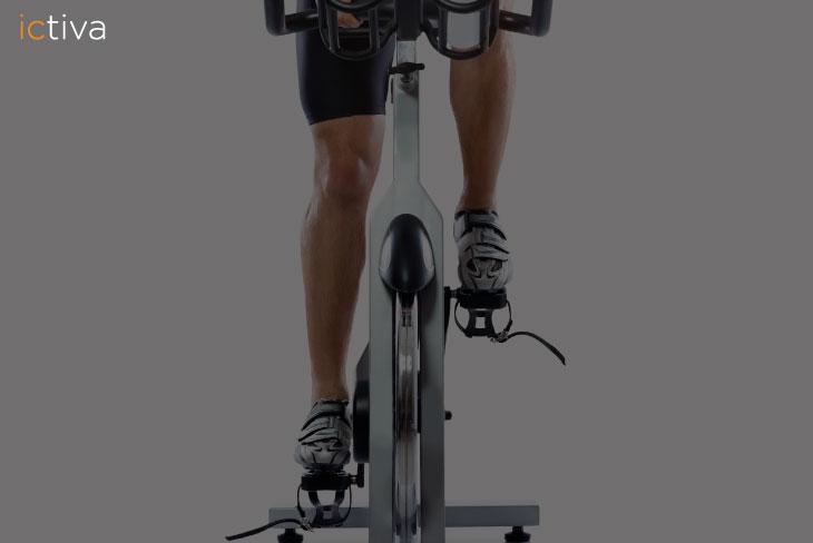 Fortalece las piernas con el spinning
