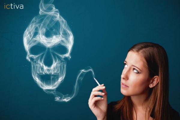 Entra para saber los efectos negativos del tabaco durante