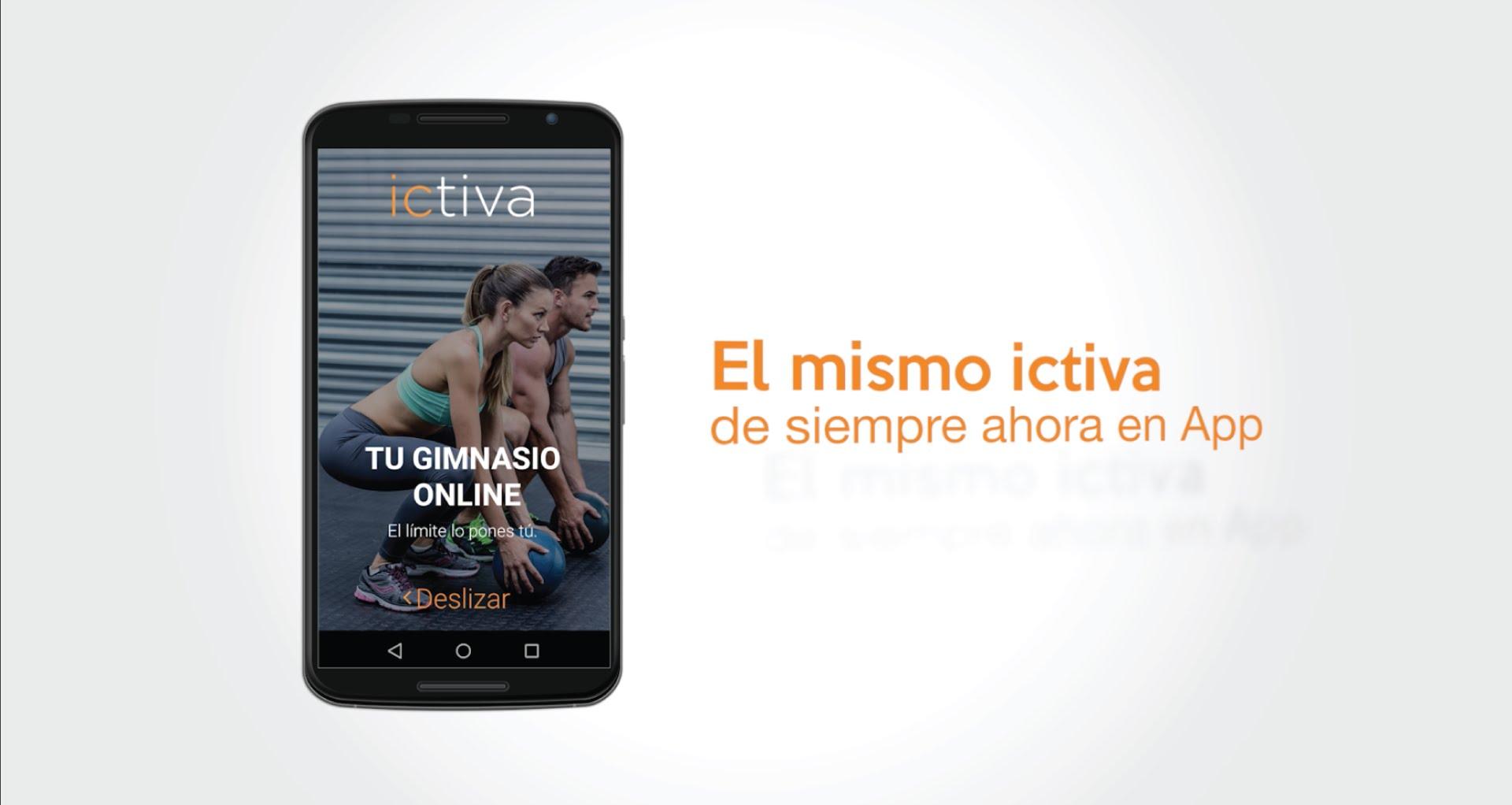 app de ejercicios de Ictiva