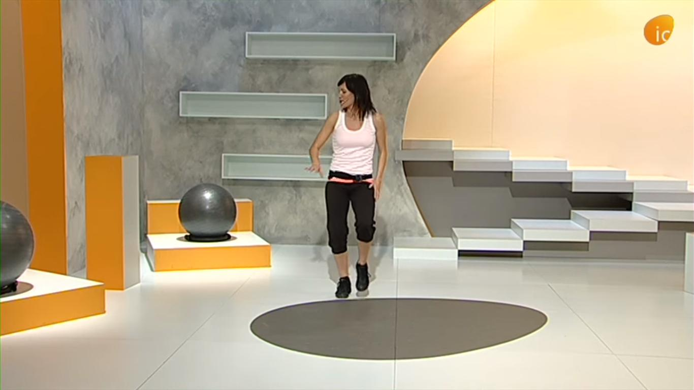 Raquel Talavera monitora de ejercicios para personas mayores