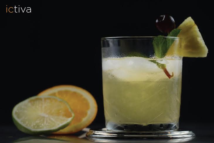 Granizado limón y menta