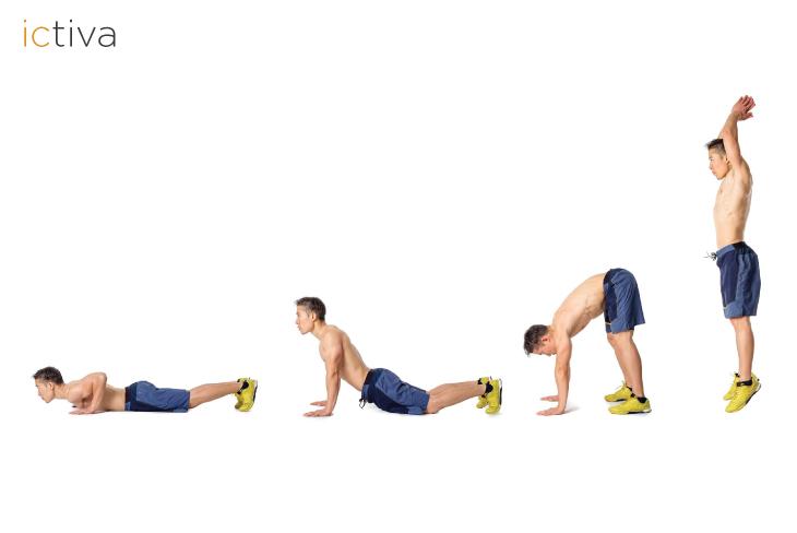 burpees ejercicio completo