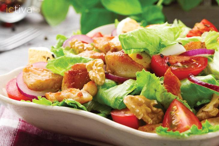 5 alimentos saludables para hacer una ensalada más sabrosa