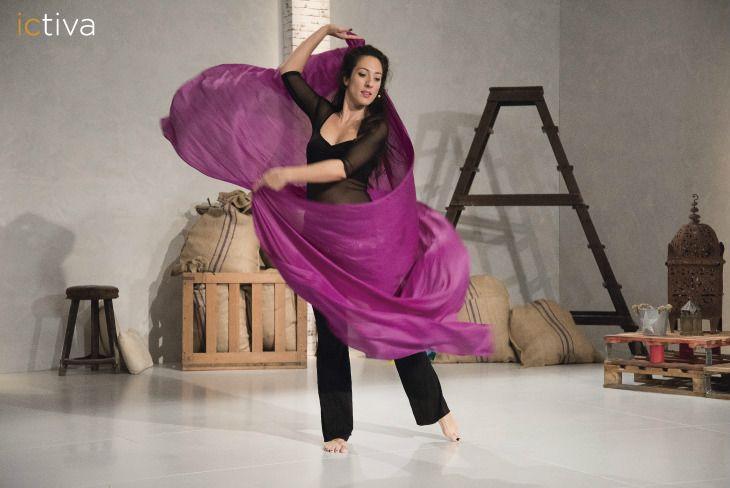 Diviértete haciendo ejercicio con la danza del vientre