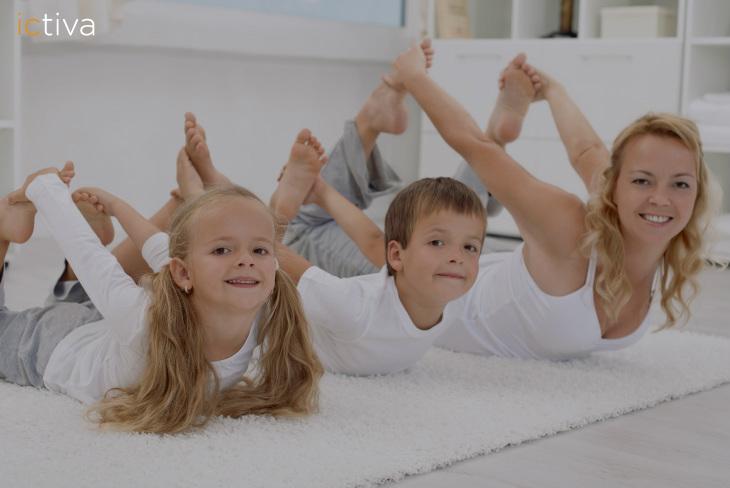 Hacer ejercicio en familia refuerza el vínculo afectivo