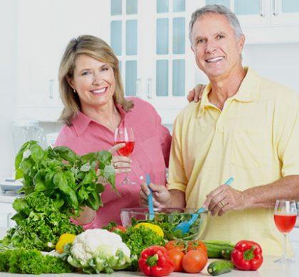 Alimentarse correctamente es el secreto para mantenerse joven