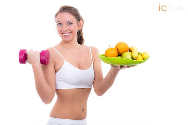 Dieta y ejercicios para mantenerse en forma