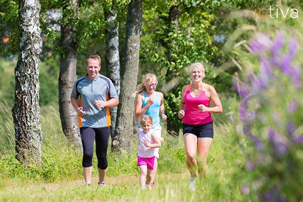 ¿Cómo hacer deporte cuando tenemos hijos pequeños y poco tiempo?