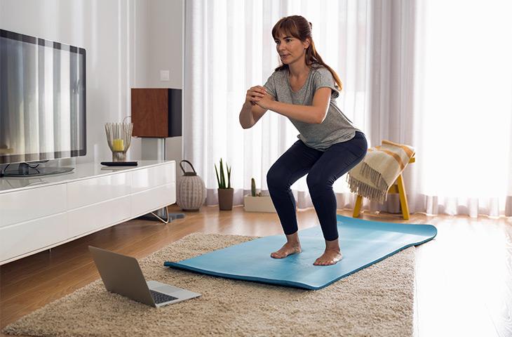 Tonificar el cuerpo en casa es posible