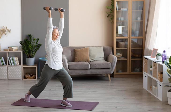 Vídeos de ejercicios para entrenar en casa
