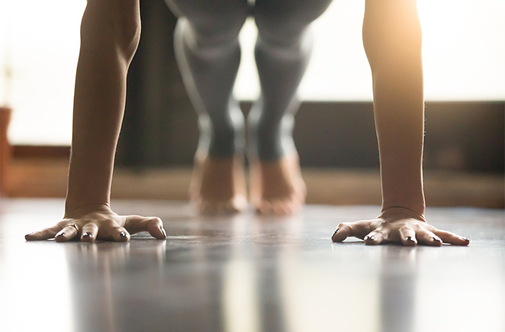 yoga para brazos